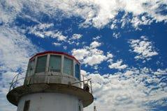 Przylądka punktu latarnia morska Zachodni przylądek, Południowa Afryka Fotografia Royalty Free
