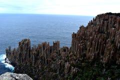 Przylądka Raoul widok, Tasman park narodowy fotografia royalty free