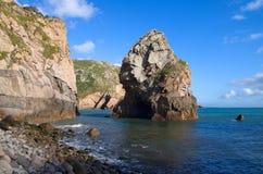 Przylądka Roca plaża Fotografia Royalty Free