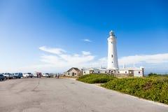 Przylądka St Francis latarnia morska, Południowa Afryka obraz royalty free