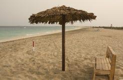 Przylądka Verde plaża fotografia stock