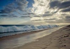 Przylądka Verde plaża Fotografia Royalty Free