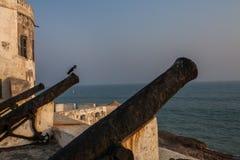 Przylądka wybrzeża kasztel, Ghana, afryka zachodnia Zdjęcie Stock