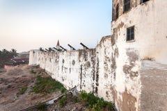 Przylądka wybrzeża kasztel, Ghana, afryka zachodnia Obrazy Royalty Free