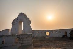 Przylądka wybrzeża kasztel, Ghana, afryka zachodnia Fotografia Royalty Free