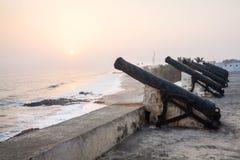 Przylądka wybrzeża kasztel, Ghana, afryka zachodnia Obrazy Stock