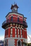 przylądka zegarowy wierza miasteczko Fotografia Stock