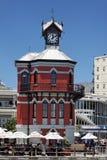 przylądka zegarowy wierza miasteczko Zdjęcia Royalty Free
