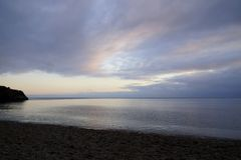 przyl?dek fiolent morze czarne wczesna wiosna zdjęcie stock