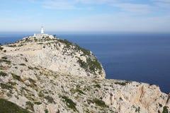 Przylądek Formentor na Majorca wyspie, Hiszpania Zdjęcia Stock