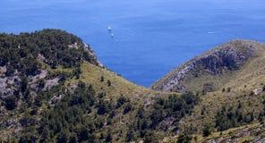 Przylądek Formentor w Majorca Zdjęcia Royalty Free