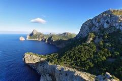 Przylądek Formentor w Majorca, Hiszpania Zdjęcia Stock