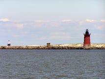 przylądek henolpen latarnie morskie Zdjęcie Royalty Free