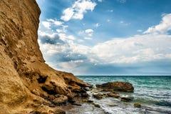 Przylądek Lucullus Republika Crimea Obrazy Royalty Free