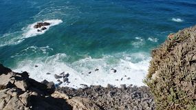Przylądek Roca, Cabo da Roca blisko Lisbon Obrazy Royalty Free