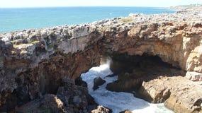 Przylądek Roca, Cabo da Roca blisko Lisbon Obraz Stock