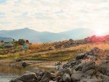 Przylądek rzeka Zdjęcie Stock