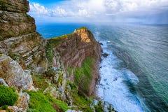 przylądków pierwszoplanowych nadziei fynbos charakteru punktu prawa rezerwy Obrazy Royalty Free