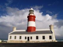 Przylądka Agulhas latarnia morska Zdjęcia Royalty Free
