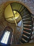 Przylądka Blanco latarni morskiej schody, Oregon Fotografia Stock