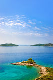 przylądka Croatia wyspy Fotografia Royalty Free