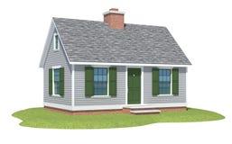 przylądka dorsza domu rendering Obraz Royalty Free