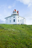 przylądka latarni morskiej Newfoundland dzida Obrazy Stock