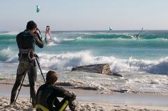 przylądka miasteczko windsurf Zdjęcie Stock