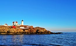 Przylądka Neddick latarnia morska Obrazy Stock