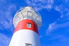 Przylądka Palisser latarnia morska w Nowa Zelandia Zdjęcia Royalty Free