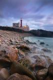 Przylądka Raso latarnia morska w Cascais, Portugalia Obraz Stock