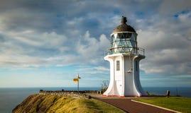 Przylądka Reinga latarnia morska Fotografia Royalty Free