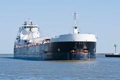Przylatujący Freighter Fotografia Stock