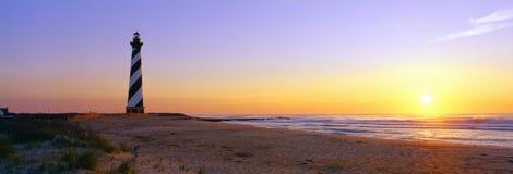Przylądka Hatteras Latarnia morska Fotografia Stock