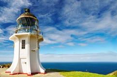 przylądka latarni morskiej nowy reinga Zealand Zdjęcie Royalty Free