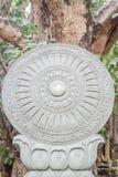 Przylegać statywowy pięknego pod drzewem Zdjęcia Stock