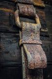 Przymocowywający patkę forged od żelaza zdjęcia royalty free