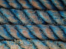 przymocowywający linowy statek Fotografia Stock