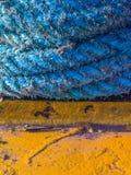 przymocowywający linowy statek Obrazy Royalty Free