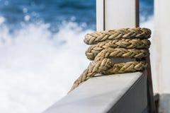 przymocowywający linowy statek Zdjęcie Royalty Free
