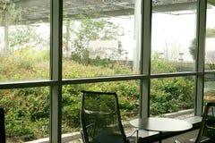 Przynoszący outside wewnątrz z roślinami Obrazy Stock