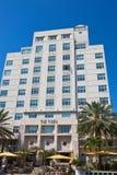 Przypływu Miami Hotelowa plaża fotografia stock