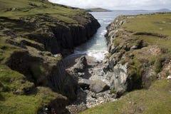 Przypływ w Donegal obrazy stock