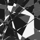 Przypadkowa mozaika Nieregularnego brukowa geometryczny wzór Tessella ilustracja wektor