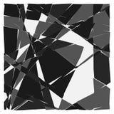 Przypadkowa mozaika Nieregularnego brukowa geometryczny wzór Tessella royalty ilustracja