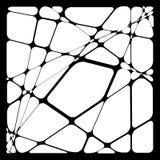 Przypadkowa mozaika Nieregularnego brukowa geometryczny wzór Tessella ilustracji