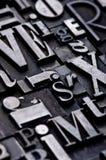 przypadkowe alfabet Obraz Royalty Free