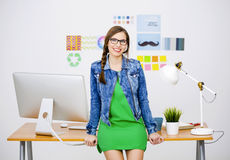 przypadkowe bizneswoman Zdjęcia Stock