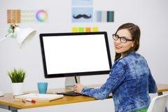 przypadkowe bizneswoman Fotografia Stock