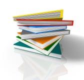 Przypadkowe książki zdjęcie stock
